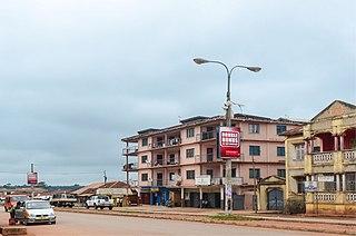 Dormaa Ahenkro Town & District Capital in Bono, Ghana