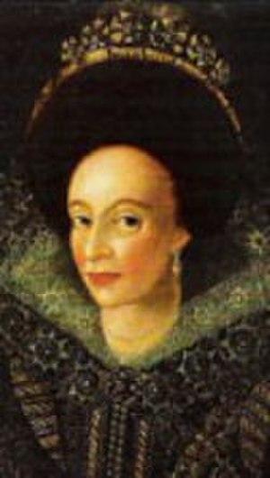 Dorothea, Abbess of Quedlinburg - Princess-Abbess Dorothea