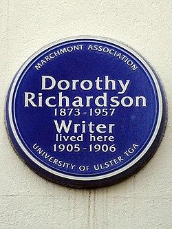 Dorothy richardson (marchmont association)