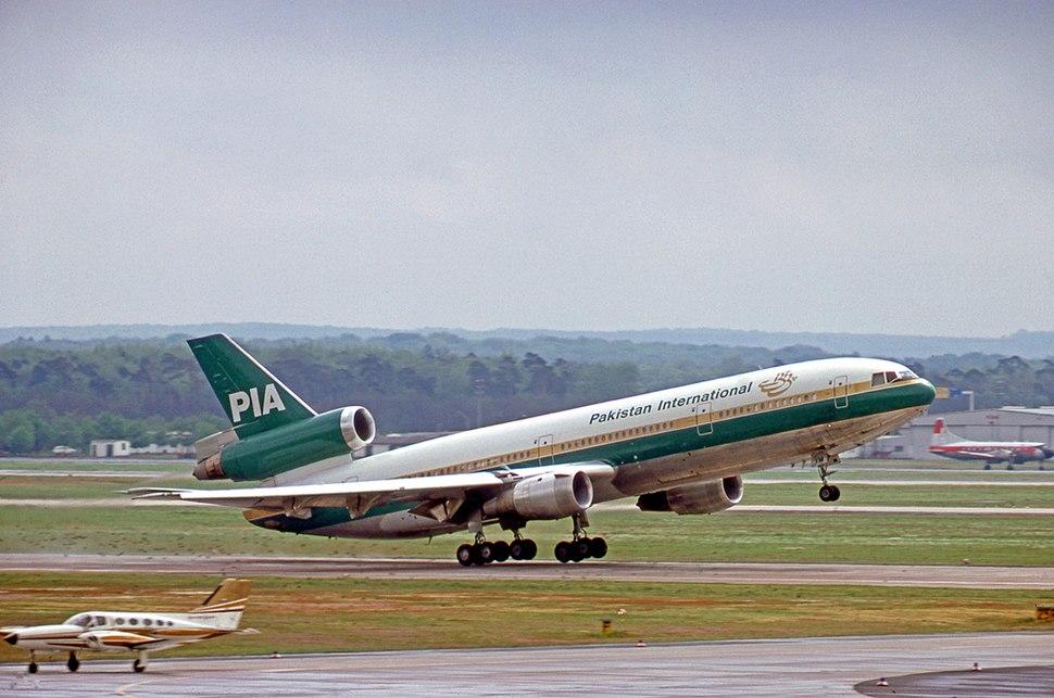 Douglas DC-10-30 AP-AYM PIA FRA 08.05.77
