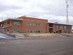 Dolores County Courthouse in Dove Creek, Colorado