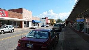 York, Alabama - Downtown York, Alabama