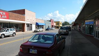 York, Alabama - Downtown York, Alabama