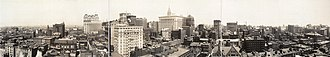 Panoramic photography - Center City Philadelphia panorama, from 1913.