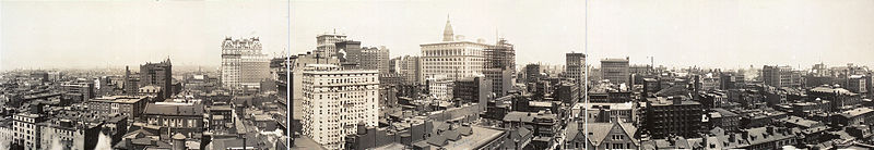 File:Downtown Philadelphia Pano 1913.jpg