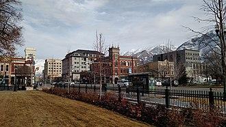 Provo, Utah - Downtown Provo