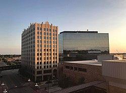 Innenstadt von Sioux City.