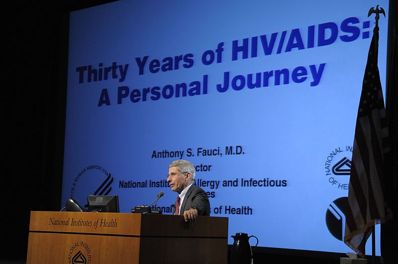 File:Dr. Anthony S. Fauci Talks About 30 Years of HIV-AIDS (5890426043).jpg