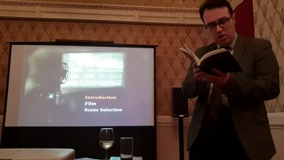 File:Dr Seth Thévoz on The Life Story of David Lloyd George at the National Liberal Club.webm