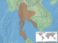 Draco taeniopterus distribution.png