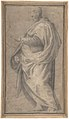 Drapery Study for a Standing Male Figure in Profile Facing Left. MET DP807840.jpg