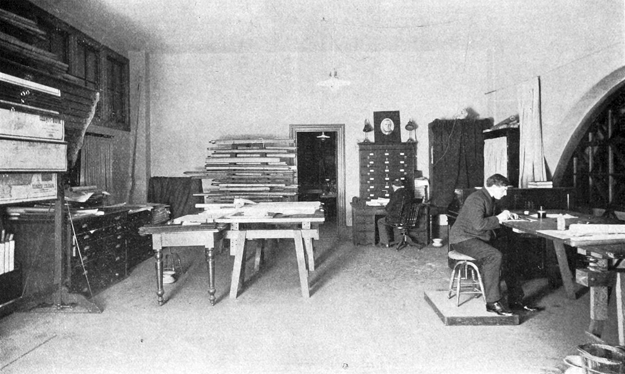 File draughting department california state mining bureau 1905 jpg wikipedia - Geological survey and mines bureau ...