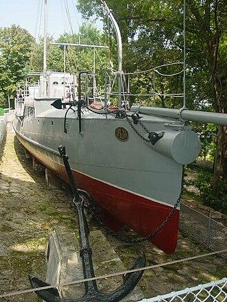 Bulgarian torpedo boat Drazki - Image: Drazki V Nmuseum