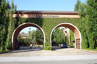 DreamWorks Animation - Entrance to DreamWorks campus in Glendale