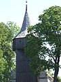 Drewniana dzwonnica kościoła parafialnego pw. św. Małgorzaty w Kłębowie.jpg