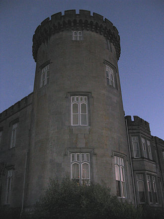 Dromoland Castle - Castellated turret.