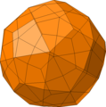 Dual of parabigyrate rhombicosidodecahedron.png