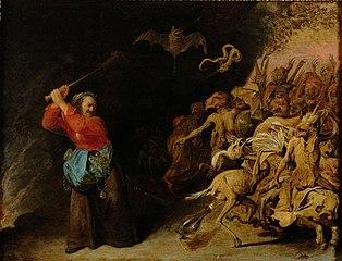 """Die """"Dulle Griet"""" unternimmt einen Raubzug vor der Hölle"""