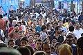 Durga Puja Spectators - Baghbazar Sarbojanin Durgotsav - Nivedita Park - Kolkata 2014-10-03 9301.JPG