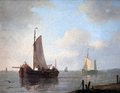 Dutch barges painted by Adam Silo.png