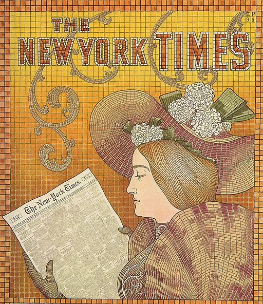 EP - Detail of a New York Times Advertisement - 1895