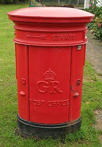Type E pillar box