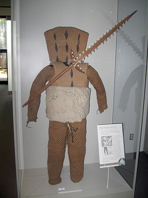 Culture of Kiribati - Early 20th century Micronesian armour from Kiribati.