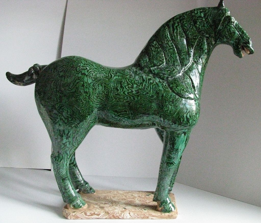 Early Tang - Green Marbled Horse.JPG