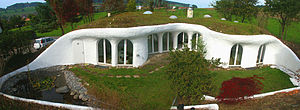 Earth house - Earth house in Switzerland by Peter Vetsch