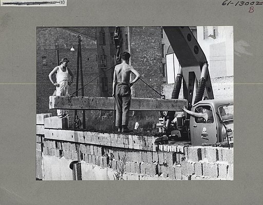 East German Construction Workers - Flickr - The Central Intelligence Agency