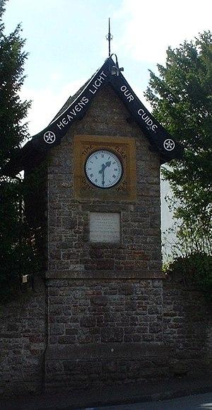 East Harptree - Clock Tower