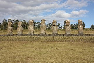 particular sacred place in Rapa Nui (or Easter Island)