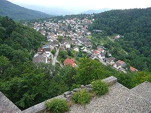 Ebersteinburg - Ebersteinburg seen from the castle