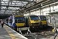 Edinburgh - Abellio 170406 and 334013 with Freightliner 90016.JPG