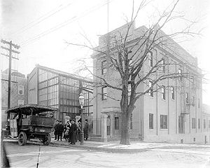 Edison Studios - Edison Motion Picture Studio, in the Bronx, New York City, circa 1907–1918