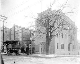 Edison Studios - Edison Motion Picture Studio, in the Bronx, New York City, circa 1907–1918