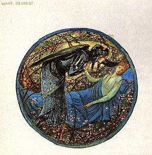 The Flower Book (Edward Burne-Jones) - Wake Dearest, from the printed facsimiles