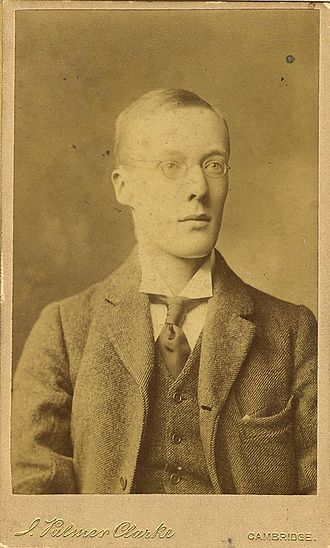 Edward Joseph Dent - J. Palmer Clarke/King's College, Cambridge EJD/5/1/1. Edward J. Dent, 1900