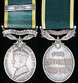Efficiency Medal (India) George VI.jpg