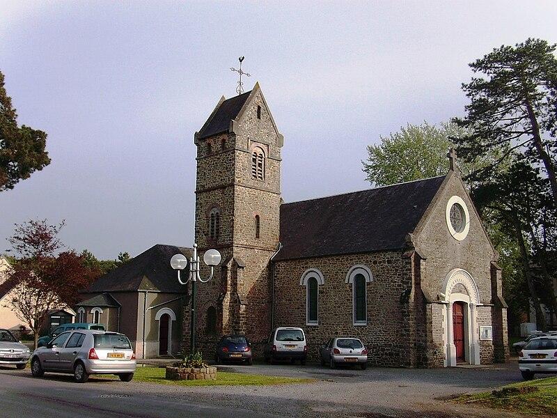 Eglise Notre-Dame des Dunes de Jullouville (50)
