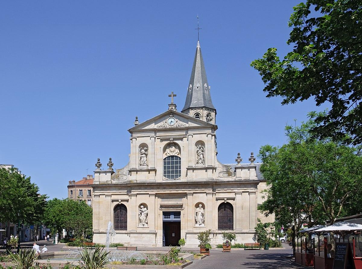 Glise saint pierre saint paul de rueil malmaison wikip dia - Piscine de rueil malmaison ...