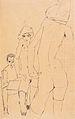 Egon Schiele - Schiele mit Aktmodell vor dem Spiegel - 1910.jpeg