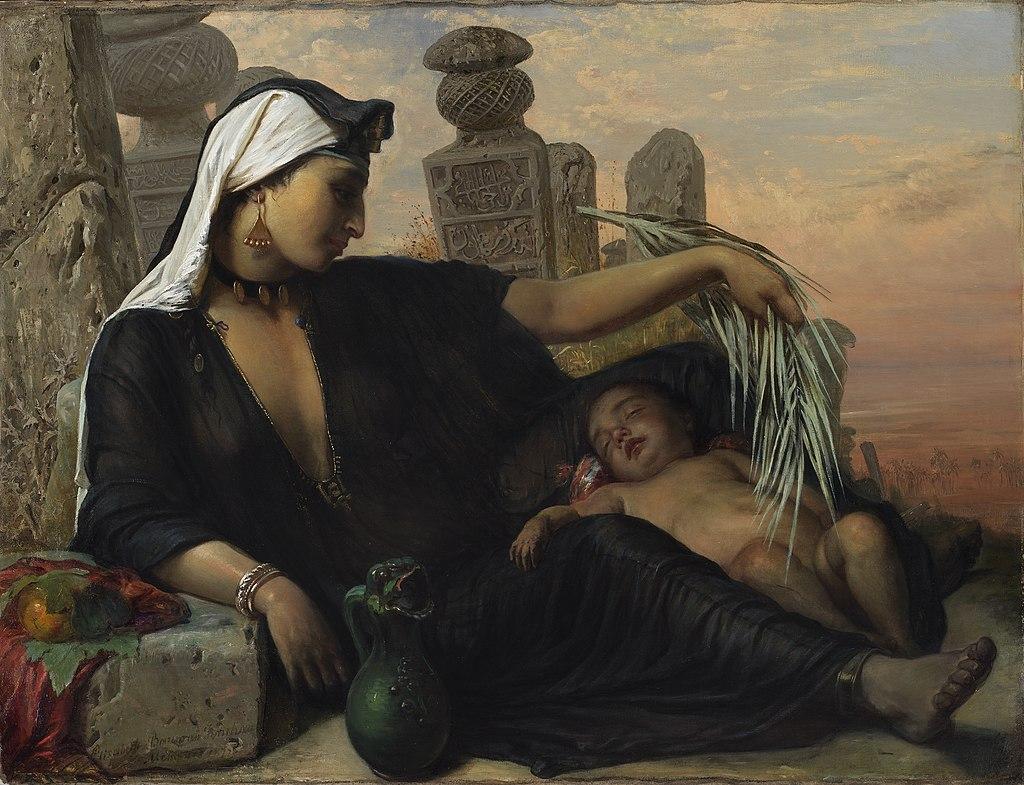Египетская женщина-феллах (картина 1872 года) .jpg