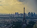 Eiffel Tower from the Tour Montparnasse, July 14, 2012 n1.jpg