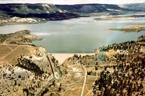 Middle Rio Grande Conservancy District - El Vado storage dam