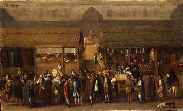 El Parian - 18th century in New Spain