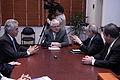 El presidente de la Asamblea Nacional, Fernando Cordero Cueva, recibió la visita de Diego García Sayán, Leonardo Franco y Pablo Saavedra, presidente, vicepresidente y secretario de la Corte (5187417725).jpg