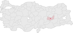 Elazığ Turkey Provinces locator - 2.png