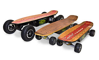 Electric skateboard - Electric skateboards of various sizes