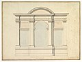 Elevation of Wall Decoration in the Villa Medici MET DP820591.jpg